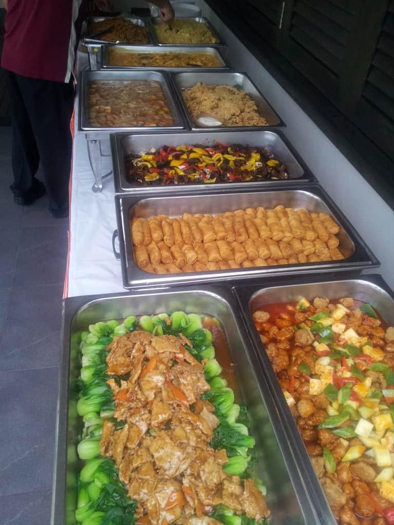 Buffet Setup 2