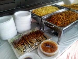 Vegetarian Catering Buffet Setup 3