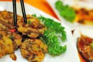 Vegetarian Mock Meat Dish